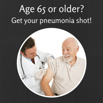 Pneumonia shots for Seniors